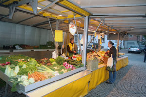 höri-gemüse marktstand